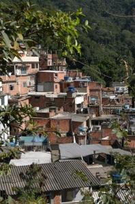Favela of Rocinha in Rio de Janeiro, Brazil