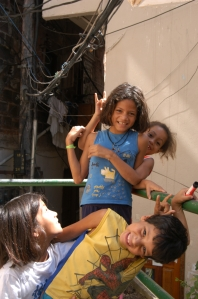 Children in the Favela Vila Canoas