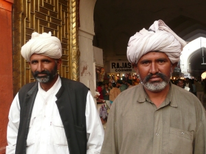 Men in Old Delhi