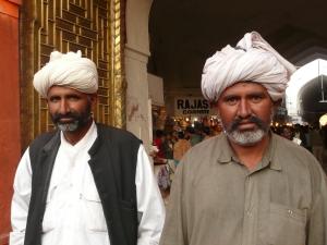 Men in Old Delhi