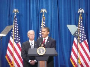 President Barack Obama & Vice-President Joe Biden